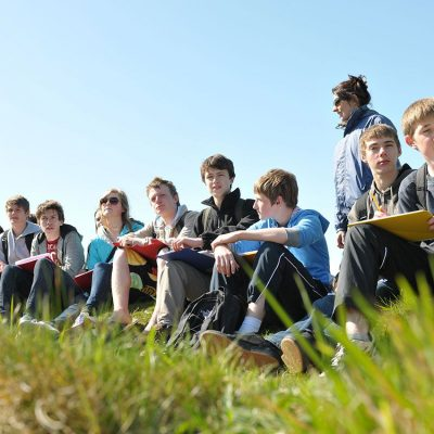 Geography GCSE field trip at PGL, Isle of Wight Feb 2017