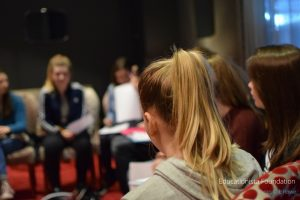 Poetry Workshop at Milton Keynes Theatre. Photo credit © L Rowe 2016